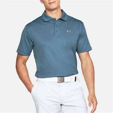 UNDER ARMOUR MENS PERFORMANCE POLO SHIRT - BLUE