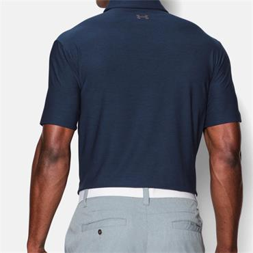 UNDER ARMOUR MENS UA PLAYOFF POLO SHIRT - NAVY
