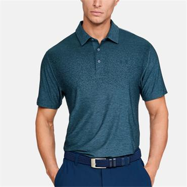 UNDER ARMOUR MENS UA PLAYOFF POLO - BLUE