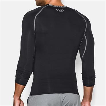 UNDER ARMOUR HEAT GEAR COMPRESSION TOP - BLACK