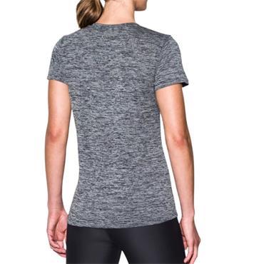 Under Armour Womens Tech Twist T-Shirt - Grey