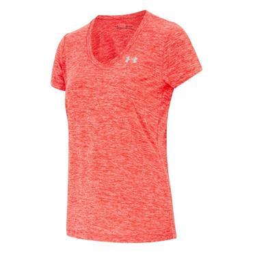 Under Armour Womens Tech SS T-Shirt - Pink