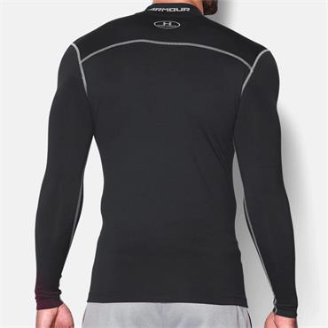UNDER ARMOUR COLD GEAR COMPRESSION TOP - BLACK