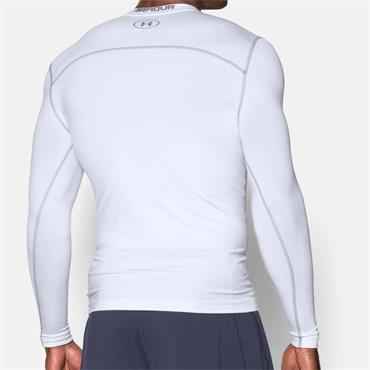 UNDER ARMOUR COLD GEAR COMPRESSION TOP - WHITE