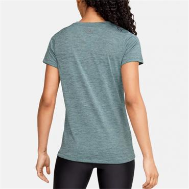Under Armour Womens Tech Twist T-Shirt - Blue