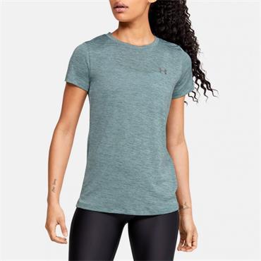 Under Armour Womens Tech Twist T-Shirt - Blue