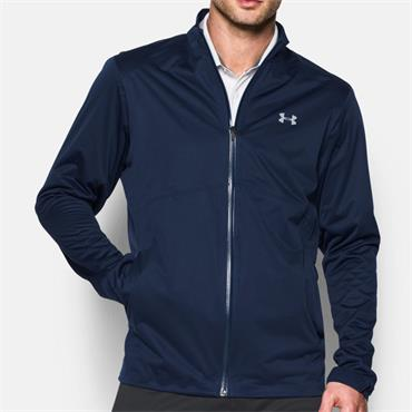 Under Armour Mens Storm Rain Jacket - Navy