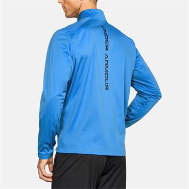 UNDER ARMOUR MENS RAIN JACKET - BLUE