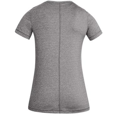 UNDER ARMOUR WOMENS HEATGEAR TSHIRT - GREY