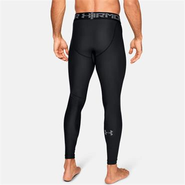 Under Armour Mens 2.0 Leggings - BLACK