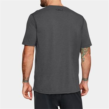 UNDER ARMOUR MENS FITTED TSHIRT - GREY