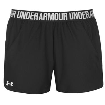 Under Armour Womens Play Up Shorts - BLACK
