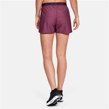 Under Armour Womens Play Up 2.0 Short - Burgandy