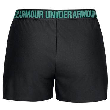 Under Armour Womens Play Up Shorts - Green/Black
