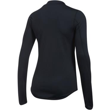 UNDER ARMOUR WOMENS COLD GEAR LS TOP - BLACK
