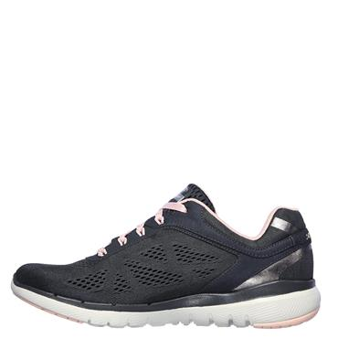 Skechers Womens Flex Appeal 3.0 Moving Fast Trainers - Grey