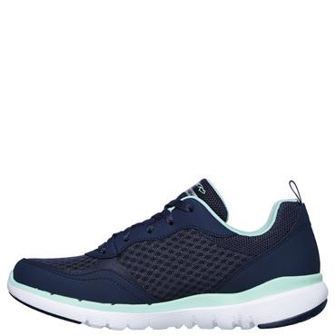 Skechers Womens Flex Appeal 3.0 Trainers - Navy