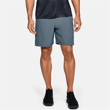 Under Armour Mens Woven Graphic Shorts - Grey