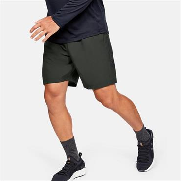 Under Armour Mens Woven Graphic Shorts - Green