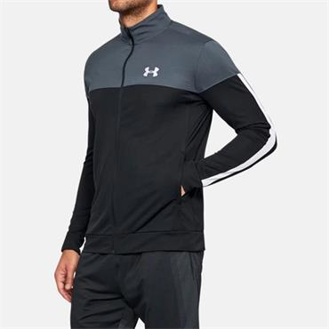 Under Armour Mens Sportstyle Pique Track Jacket - Grey