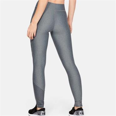 UNDER ARMOUR WOMENS HG GRAPHIC LEGGINGS - GREY