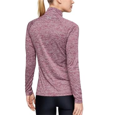 Under Armour Womens Tech Twist Half Zip Top - Purple