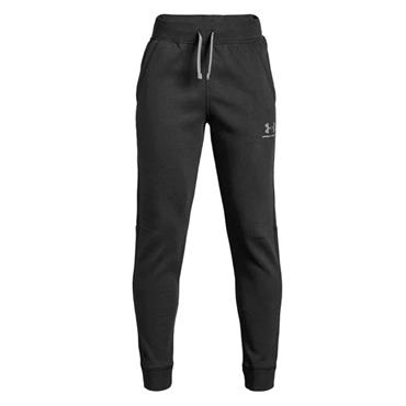 Under Armour Boys Tracksuit Bottoms - BLACK