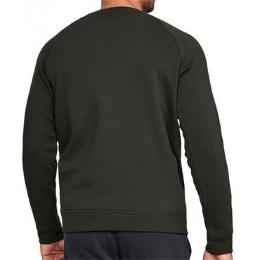 Under Armour Mens Rival Fleece Crew Sweater - Green