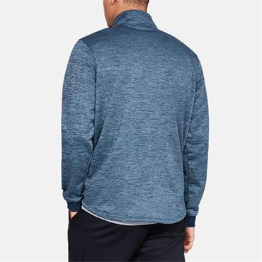 Under Armour Mens Fleece Half Zip - Blue