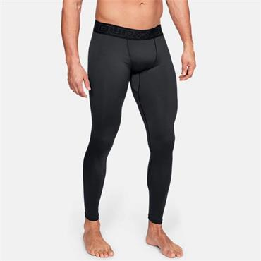 Under Armour Mens Cold Gear Leggings - BLACK