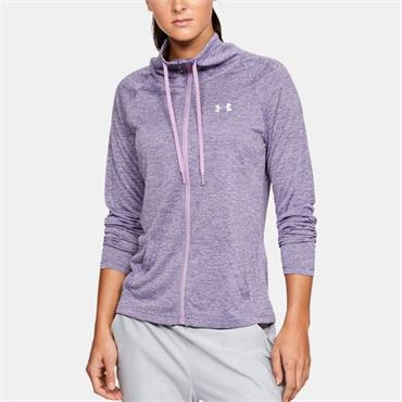 Under Armour Womens Tech Twist Full Zip - Purple