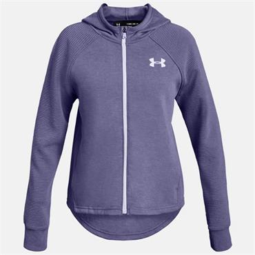 Under Armour Girls Finale Full Zip Jacket - Purple