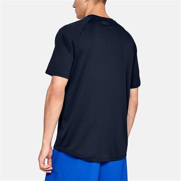 UNDER ARMOUR MENS TECH TSHIRT - NAVY