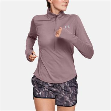 Under Armour Womens Streaker 2.0 Half Zip Top - Pink