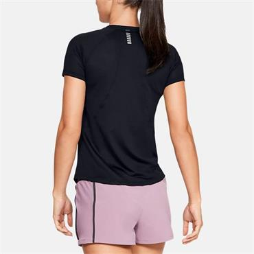 Under Armour Womens Qualifier T-Shirt - BLACK