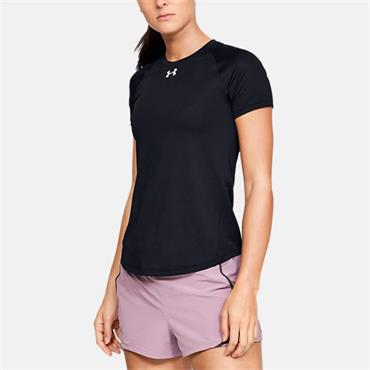 Under Armour Womens Qualifier T-Shirt - BLACK