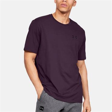 Under Armour Mens Sportstyle T-Shirt - Maroon