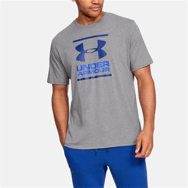 Under Armour Mens Short Sleeve T-Shirt - Grey
