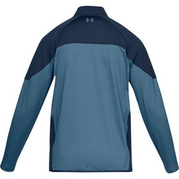 Mens Under Armour Storm Half Zip - Blue/Navy
