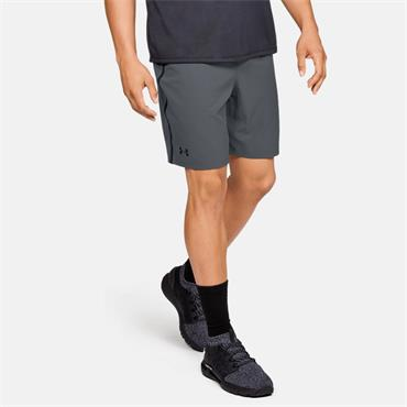 Under Armour Mens Qualifier Perf Shorts - Grey