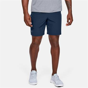 Under Armour Mens Qualifier Perf Shorts - Navy