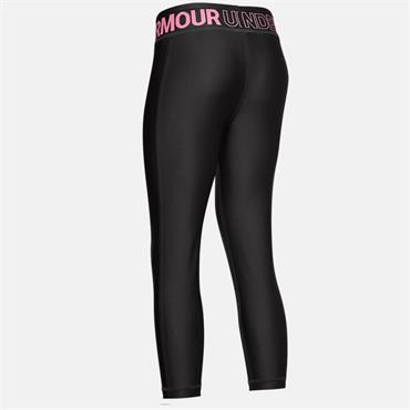 Under Armour Girls Crop Leggings - Grey