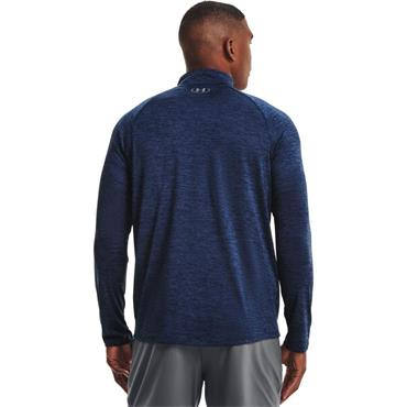 Under Armour Mens Tech 2.0 HZ Top - Navy