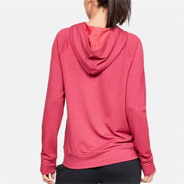 Under Armour Womens Featherweight Fleece Hoodie - Burgandy