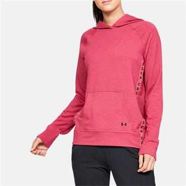 1a1b25390 Under Armour Womens Featherweight Fleece Hoodie - Burgandy ...