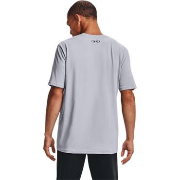 Under Armour Mens Wordmark T-Shirt - Grey