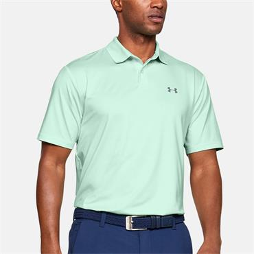 Under Armour Mens Performance Polo Shirt - Green