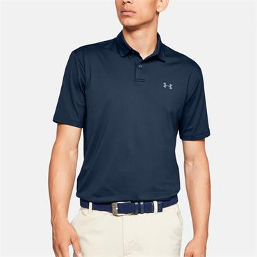 Under Armour Mens Performance Polo Shirt - Navy