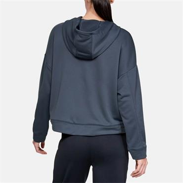 Under Armour Womens Tech Terry Hoodie - Blue