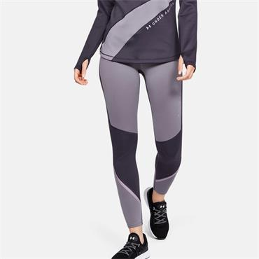 Under Armour Womens Cold Gear Leggings - Purple